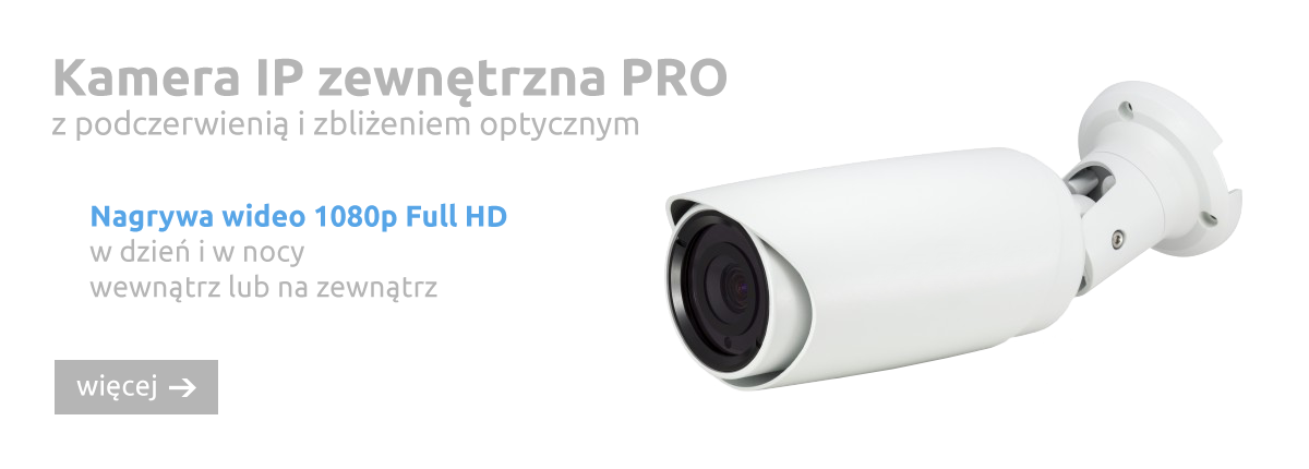 Kamera zewnętrzna PRO
